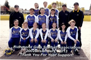 Richmond Islanders Softball Sponsorship Richmond Orthodontist